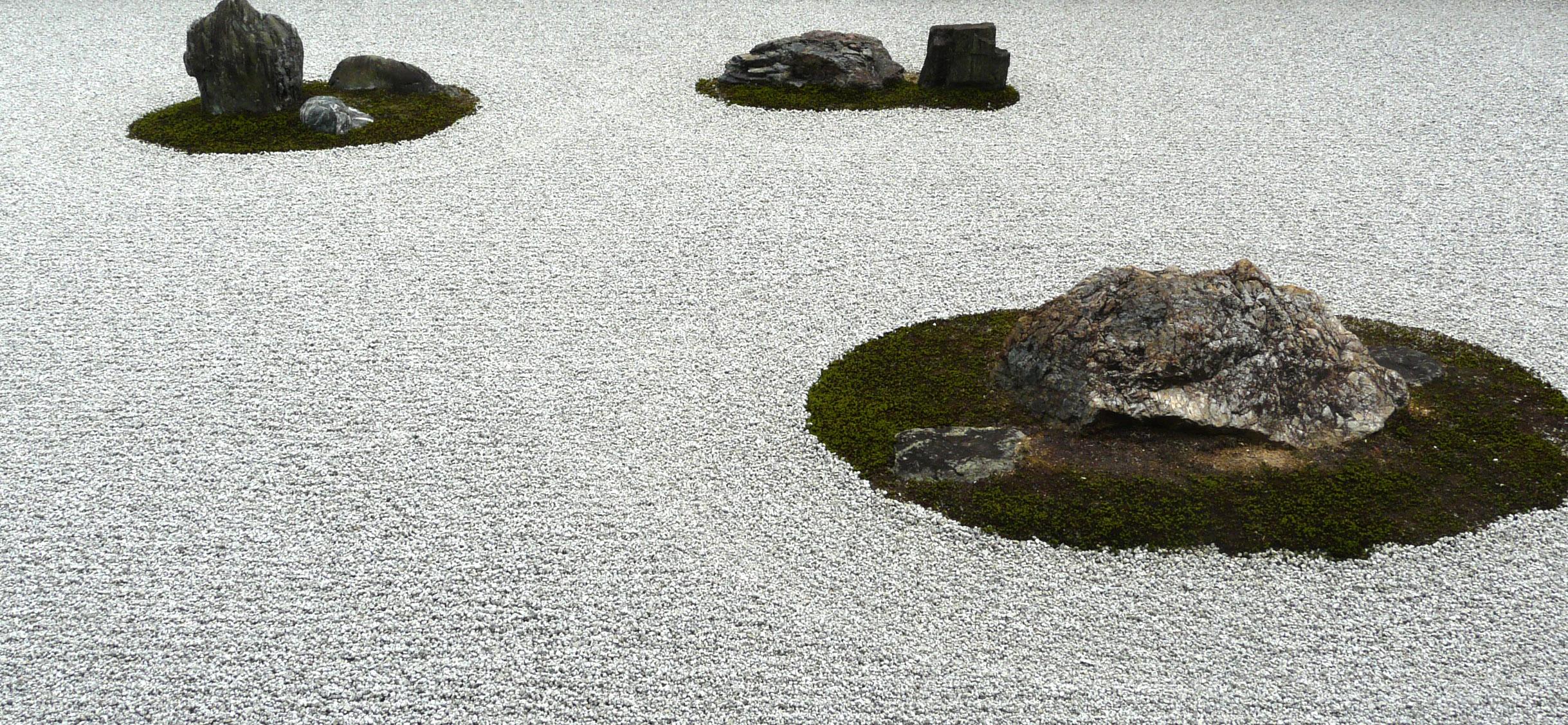 Japanese garden for Japanese sand garden